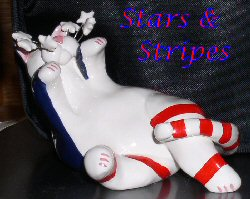 Whimsiclay Stars & Stripes